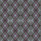Quieto, mas agradável Design de padrão vetorial sem costura