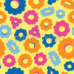 ファニー・ギア シームレスなベクトルパターン設計
