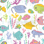 Life Underwater is Beautiful Pattern Design