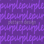 Lieblingsfarbe Purple Vektor Ornament
