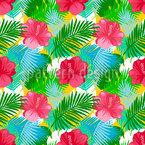 Tropischer Sommer Nahtloses Vektormuster