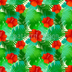 Exotic Summer Seamless Vector Pattern Design