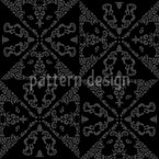 Tiled Monochrome Seamless Pattern
