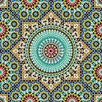 Orientalische Sterne Nahtloses Vektormuster