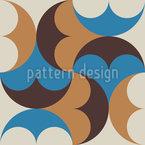Decorative Orient Mosaic Seamless Vector Pattern Design