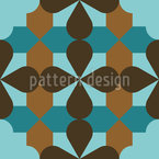 Decorative Ornaments Seamless Vector Pattern Design