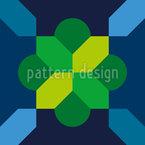 装飾曼荼羅 シームレスなベクトルパターン設計