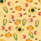 Herbsternte Vektor Muster
