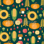 Landwirtschaftliche Herbsternte Vektor Design