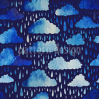 雨の日々 シームレスなベクトルパターン設計