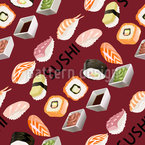 Delicious Sushi Vector Design