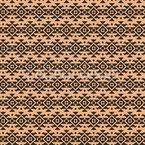 Maori Stil Nahtloses Vektormuster