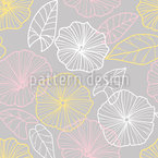 Bindweed Seamless Vector Pattern Design