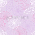 Illustrative Bindweed Seamless Vector Pattern Design