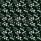Moonshine Leaves Vector Pattern