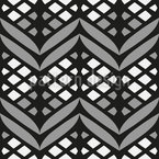 Latticed Bordures Repeating Pattern