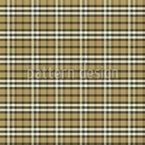 Tartan écossais traditionnel Motif Vectoriel Sans Couture