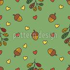 Outono Quente Design de padrão vetorial sem costura