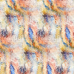 Wave Pointillism Vector Pattern
