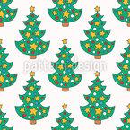 Doodle Weihnachtsbaum Vektor Ornament