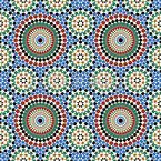 Riad Mosaik Nahtloses Vektormuster