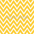Chevron Ikat Estampado Vectorial Sin Costura