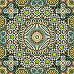 Riad Fantasy Seamless Vector Pattern Design
