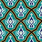 Moroccan Palace Seamless Vector Pattern Design