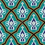 Palácio marroquino Design de padrão vetorial sem costura