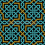 Arab Weave Seamless Vector Pattern Design