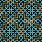 Arabische Webung Nahtloses Vektormuster
