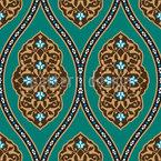 Palácio Otomano Design de padrão vetorial sem costura
