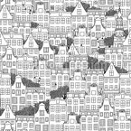 Amsterdam Seamless Vector Pattern Design