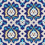 アラベスク シームレスなベクトルパターン設計