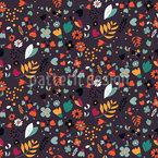 Mille Fleurs garden Seamless Pattern
