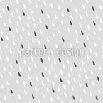 Cute Drops Vector Pattern
