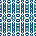 Moroccan Star Dance Seamless Vector Pattern Design