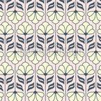 Vintage Blüten-Ornamente Muster Design