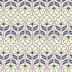 Vintage Blüten-Ornamente Nahtloses Vektormuster
