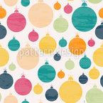Weihnachtlicher Baumschmuck Designmuster