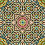 Moroccan Star Seamless Vector Pattern Design