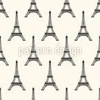Eiffelturm Rapportiertes Design