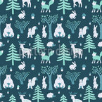 Sleepwalking Animals Repeat Pattern