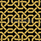 Oriental Connections Seamless Vector Pattern Design