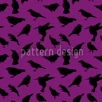 Swarm of Birds Pattern Design