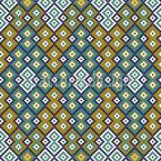 Kilim Geometrie Nahtloses Vektormuster