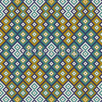 Kilim Geometry Vector Pattern