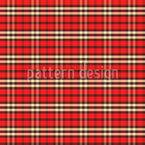Scottish Feeling For Symmetry Seamless Vector Pattern Design
