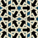 Middle Eastern Beauty Repeating Pattern
