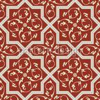 Esplendor Medieval Design de padrão vetorial sem costura